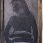 Frau mit Fischen