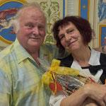 mit meinem Zeichenlehrer Herrn Jonczick aus meiner Grundschulzeit in Judenbach