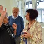 mit Brigitte und Klaus Resch (Onkel)