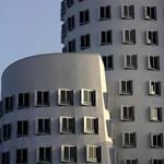 Gehry-Bauten im Düsseldorfer Medienhafen