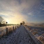Wintermorgen am Niederrhein