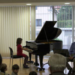 Teresa Haselböck spielt lockere Jazz-Melodien