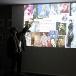 Dietre Halamas Vortrag: Künstler in Tullnerbach