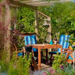 Ferienwohnung Glottertal Haus Zumholte mit lauschigem Garten