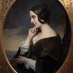 Marie d'Agoult_par Henri Lehmann en 1843