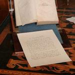 Papier dans chambre George Sand 03