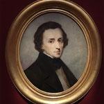 Frédéric Chopin_par Ary Scheffer en 1849