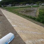 長野県松代市 河川改修工事 ビオプラッグ T-100 施工完了