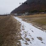 長野県松代市 河川改修工事 ビオプラッグ T-100  施工完了後8か月後