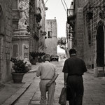 Elders in M'dina (Malta)