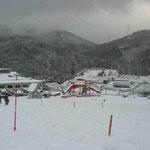 いぶきの里スキー場ゲレンデ