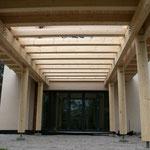 TISCHER Tischlerei - NUR-HOLZ-HAUS Terrassendach