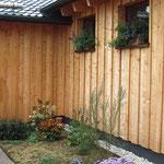 Lärchenholzfassade - TISCHER Tischlerei + Holzbau