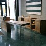 Büroeinrichtung, Praxismöbel
