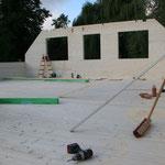TISCHER Tischlerei: NUR-HOLZ-Haus Rohbau OG