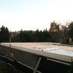 Holzbalkendecke über dem Kellerbereich - TISCHER Tischlerei + Holzbau