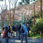 川島小学校跡地・桜が満開!