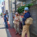 23 東海道は江戸方見附から本陣まで一直線です