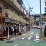 24 金沢横丁の石碑は周りが工事中で大変!