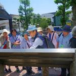 18 再び天王町駅前公園・東海道の説明を改めて