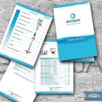 Broschüre (Preisliste)-Design für die Evoqua Water Technologies GmbH