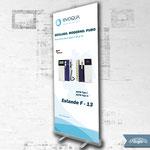 Rollup-Design für Evoqua Water Technologies