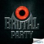 """Logodesign für eine Konzert-/Partyreihe namens """"Brutal Party"""""""