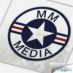 Logodesign - MM MEDIA