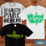 T-Shirt-Design - Marienpark Berlin
