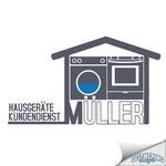 Logodesign - Hausgeräte Kundendienst Müller