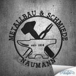 Logodesign - Metallbau & Schmiede Naumann