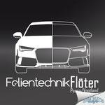 Logodesign - Folientechnik Flöter