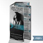 Faltblatt-Design (10-Seiter): Anne Frank Ausstellung @Goldener Stern,Borna