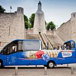 Open tour Verdun