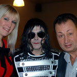 Avec Kéty Lucy et Ted Sanders