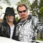 Avec mon ami Johnny Cadillac