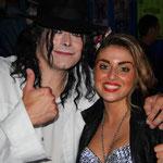 Avec Lean Vega sosie de Madonna