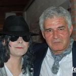 Avec mon ami Mike Alison
