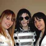 Avec Thiffany et Julie le groupe ABBA