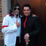 Avec mon ami Alain King
