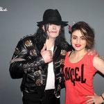 Avec Léna Vega Sosie de Madonna