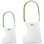 Kindertasche, weiß-grün