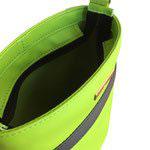 Handtasche grün grau