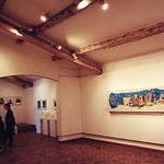 アンティーブ・ピカソ美術館内部