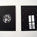 クリスマスカード(切り絵)-02