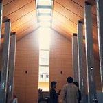 福島・県立美術館内部