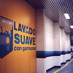 バルセロナ・カークリーニング入口