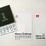 クリスマスカード(切り絵)-03
