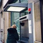 パリ・銀行ATM