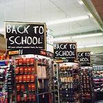 シドニー・町のスーパーの黒板